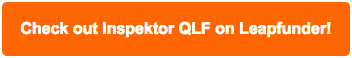 Inspektor QLF on Leapfunder