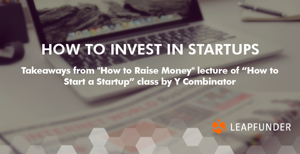 How to Invest in Startups