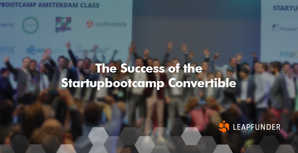 The Success of the Startupbootcamp Convertible