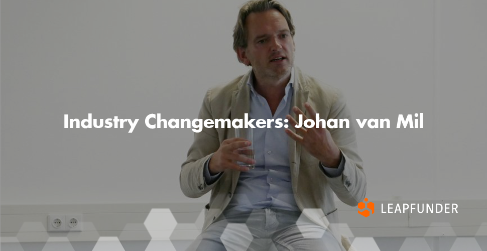 Industry Changemakers Johan van Mil
