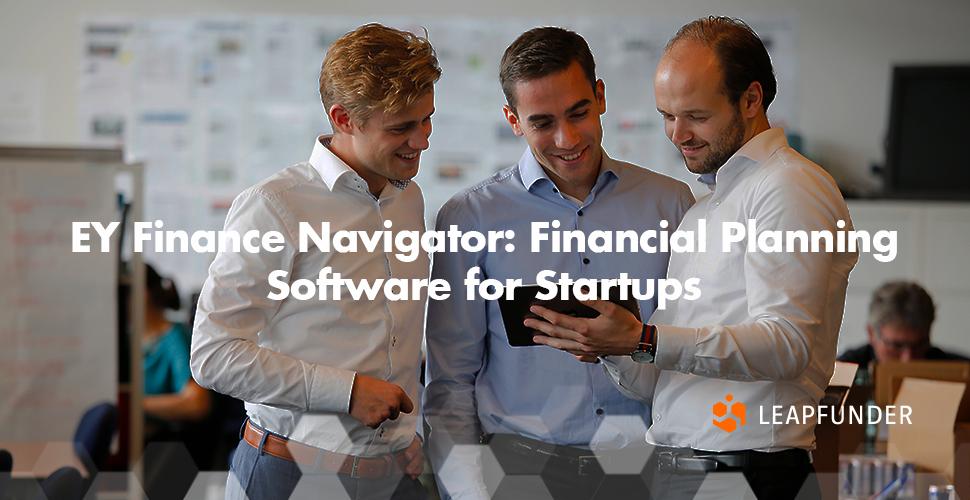 EY Finance Navigator Financial Planning Software for Startups