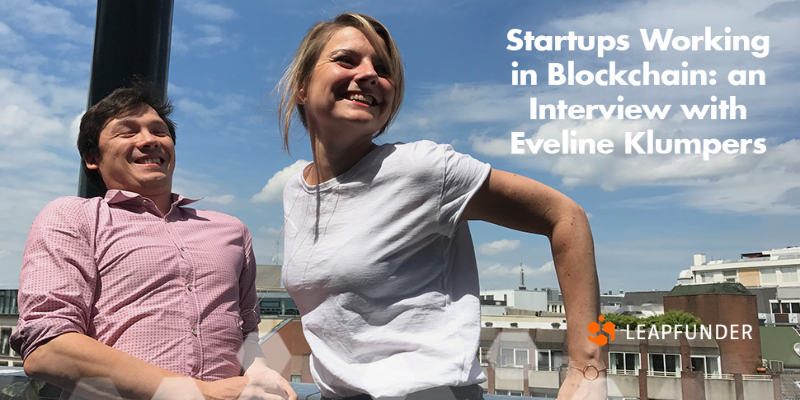 Startups Working in Blockchain an Interview with Eveline Klumpers