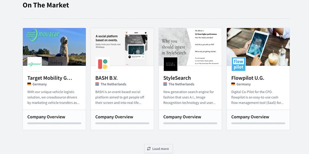 Leapfunder website feature