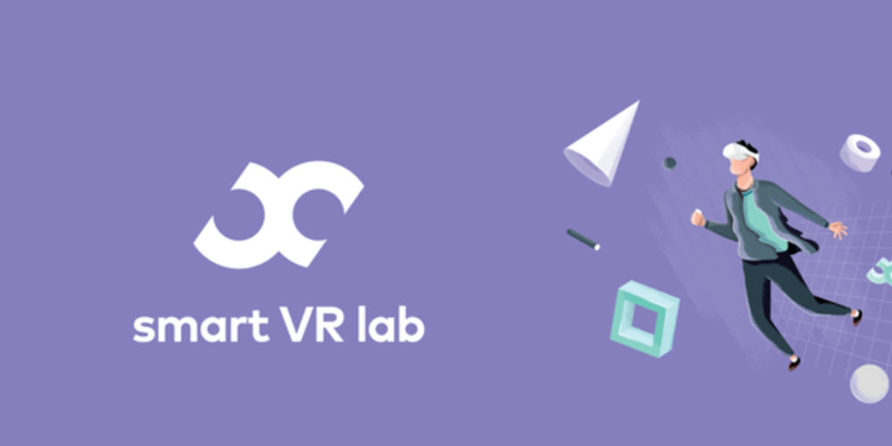 Smart VR Lab website design